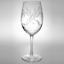 Olive Branch AP Large Wine Glass Set of 4 | Rolf Glass | ROL302263