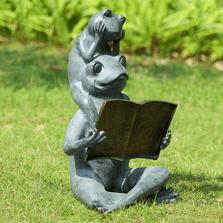 Frog Garden Sculpture | Eager Readers | SPI Home | 34768