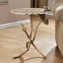 Frog and Dragonfly End Table | SPI Home | 34737