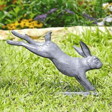 Rabbit Hopping Garden Sculpture | SPI Home | 34765