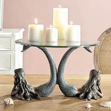 Mermaid Pair Candle Holder | SPI Home | 34736