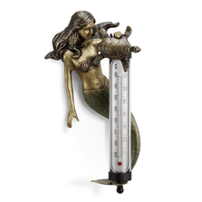 Mermaid and Turtle Thermometer | SPI Home | 34747