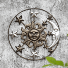 Sun Moon and Stars Wall Art | SPI Home | 34754