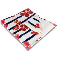 Nasturtiums Fleece Throw Blanket | Island Girl Home | THR95