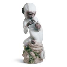 Monkey Porcelain Figurine Chinese Zodiac | Lladro | 01006962