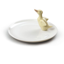 Duck Figurine Porcelain Plate | Lladro | 01007841