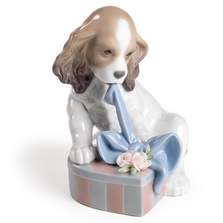 Can't Wait Dog Porcelain Figurine | Lladro | 01008312