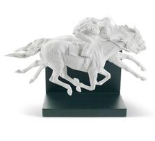 Horse Race Porcelain Figurine | Lladro | 01008515