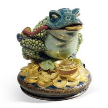 Hoptoad Porcelain Toad Figurine | Lladro | 01008660