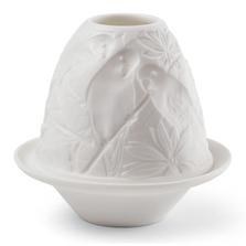 Parrot Porcelain Lithophane with Plate | Lladro | 01017305