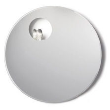 Parrot Shine Round Wall Mirror | Lladro | 01007860