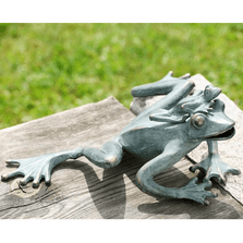 Frog Lovers Garden Sculpture | SPI Home | 33317