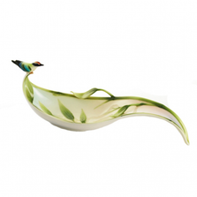 Bamboo Song Bird Candy Dish | FZ01318 | Franz Collection
