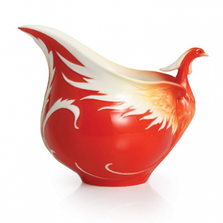Phoenix in Flight Porcelain Creamer | FZ02381 | Franz Collection