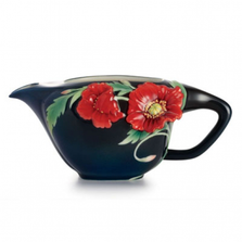 Serenity Poppy Porcelain Creamer | FZ02473 | Franz Collection