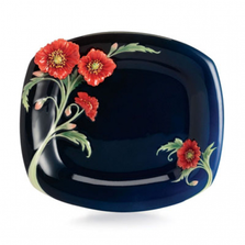 Serenity Poppy Porcelain Plate | FZ02514 | Franz Collection