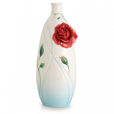 Romance of the Rose Porcelain Vase | FZ02659 | Franz Collection