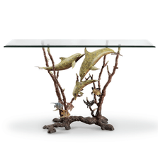 Dolphin Trio Console Table | 80358 | SPI Home