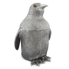 Penguin Pewter Ice Bucket | Vagabond House | VHCO103PN