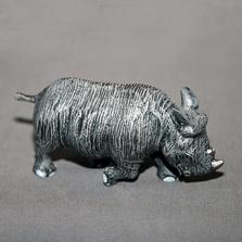 Rhinoceros Baby Bronze Sculpture | BBSRHI-BABY