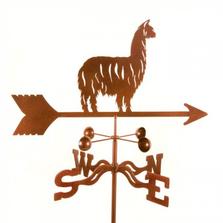 Alpaca Llama Weathervane | EZ Vane | ezvalpacallama