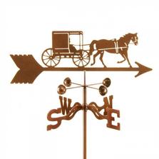 Horse and Buggy Weathervane | EZ Vane | ezvhorsebuggy