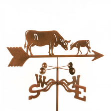 Cow and Calf Weathervane | EZ Vane | ezvCowCalf