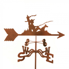 Fisherman and Dog Weathervane | EZ Vane | ezvfisherman