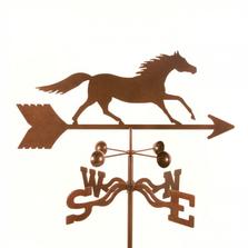 Running Horse Weathervane | EZ Vane | ezvrunninghorse