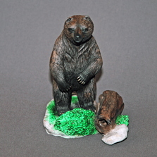 "Bear Bronze Sculpture ""Yogi Bear"" | Barry Stein | BBSYOGIBEAR"