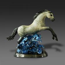 "Horse Bronze Sculpture ""Racing the Wind""   Barry Stein   BBSRACINGINTHEWIND"