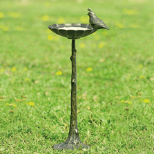 Quail Birdbath Birdfeeder | 51059 | SPI Home