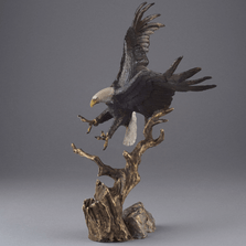 "Eagle Bronze Sculpture ""Spirit of Liberty"" 
