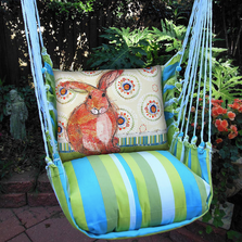 "Rabbit Hammock Chair Swing ""Beach Boulevard"" 