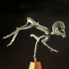 Bighorn Sheep Metal Sculpture | Pinnacle | Frank Cole