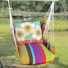 "Daisy Hammock Chair Swing ""Cafe Soleil"" | Magnolia Casual | CFRR602602-SP"