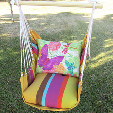 """Butterfly Hammock Chair Swing """"Cafe Soleil"""" 