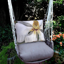 "Magnolia Hammock Chair Swing ""Chocolate"" 
