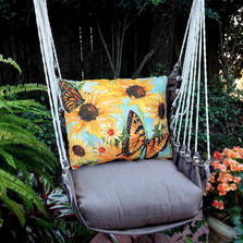 "Butterfly Hammock Chair Swing ""Chocolate"" 