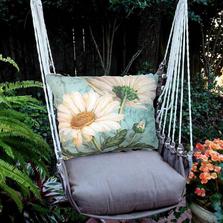 "Daisy Hammock Chair Swing ""Chocolate"" | Magnolia Casual | CHTC509-SP"