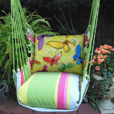 "Butterfly Hammock Chair Swing ""Fresh Lime"" 
