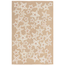 Starfish Neutral Area Rug | Trans Ocean | CAP46166712