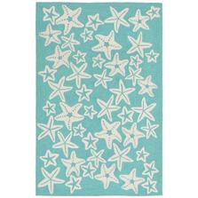 Starfish Aqua Area Rug | Trans Ocean | CAP46166704
