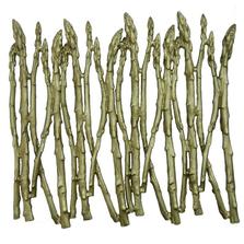 Asparagus  Pewter Trivet  | Michael Michaud Table Art | TR9729GR