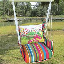 "Garden Bench Hammock Chair Swing ""Le Jardin"" | Magnolia Casual | LJBC602-SP"