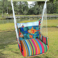 "Fisherman Hammock Chair Swing ""Le Jardin"" 
