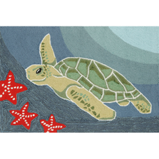 Sea Turtle Ocean Area Rug | Trans Ocean | FTP34143104