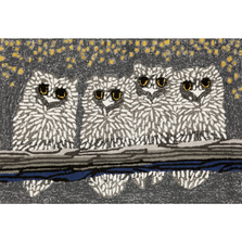 Owl Night Area Rug | Trans Ocean | TOGFTP34144347