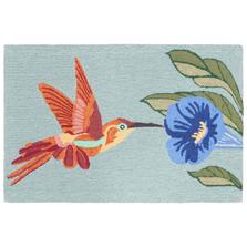 Hummingbird Sky Blue Area Rug | Trans Ocean | TOGFTP34152703