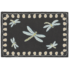 Dragonfly Midnight Area Rug | Trans Ocean | FTP34204847